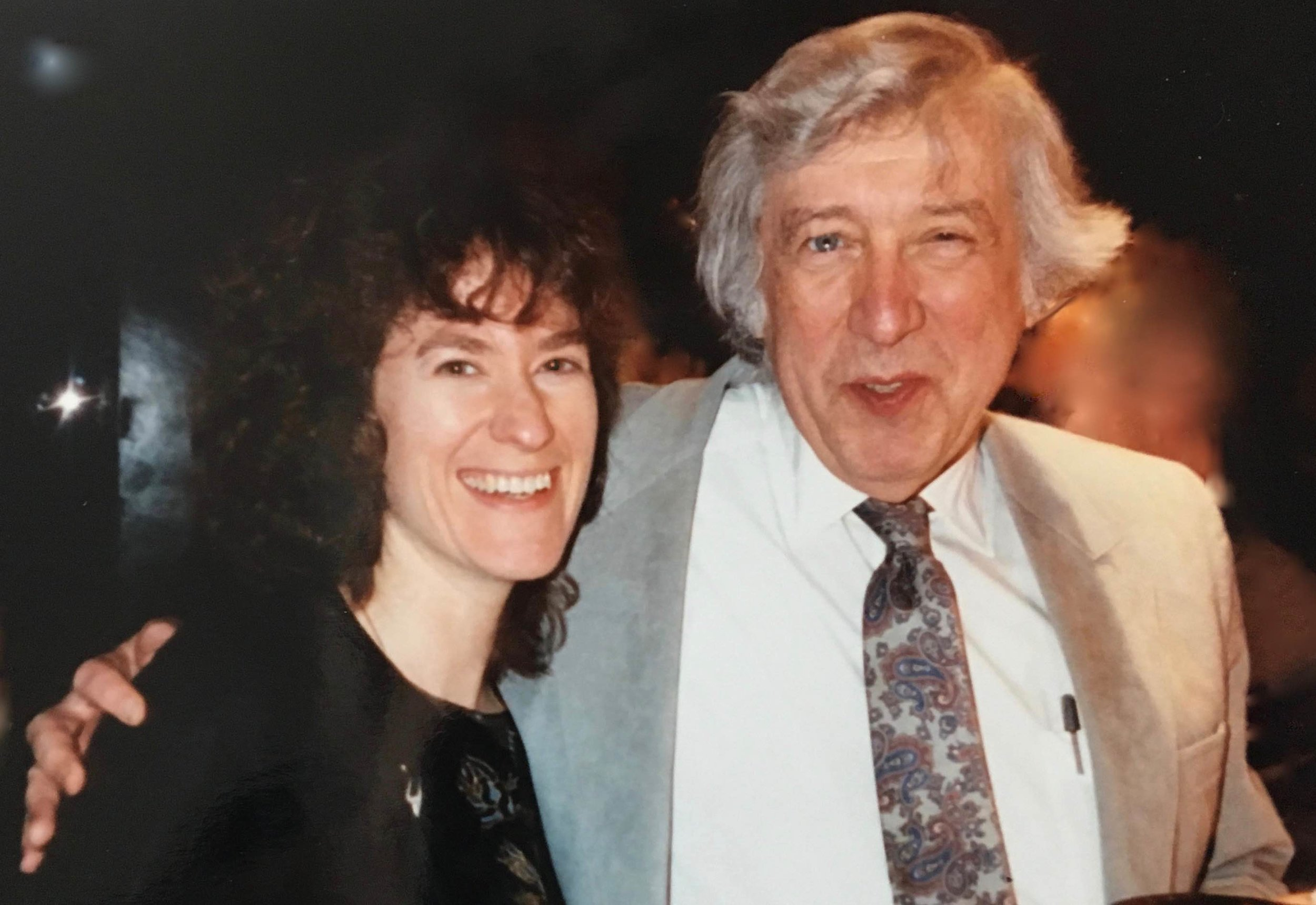 Jean with Gunther Schuller