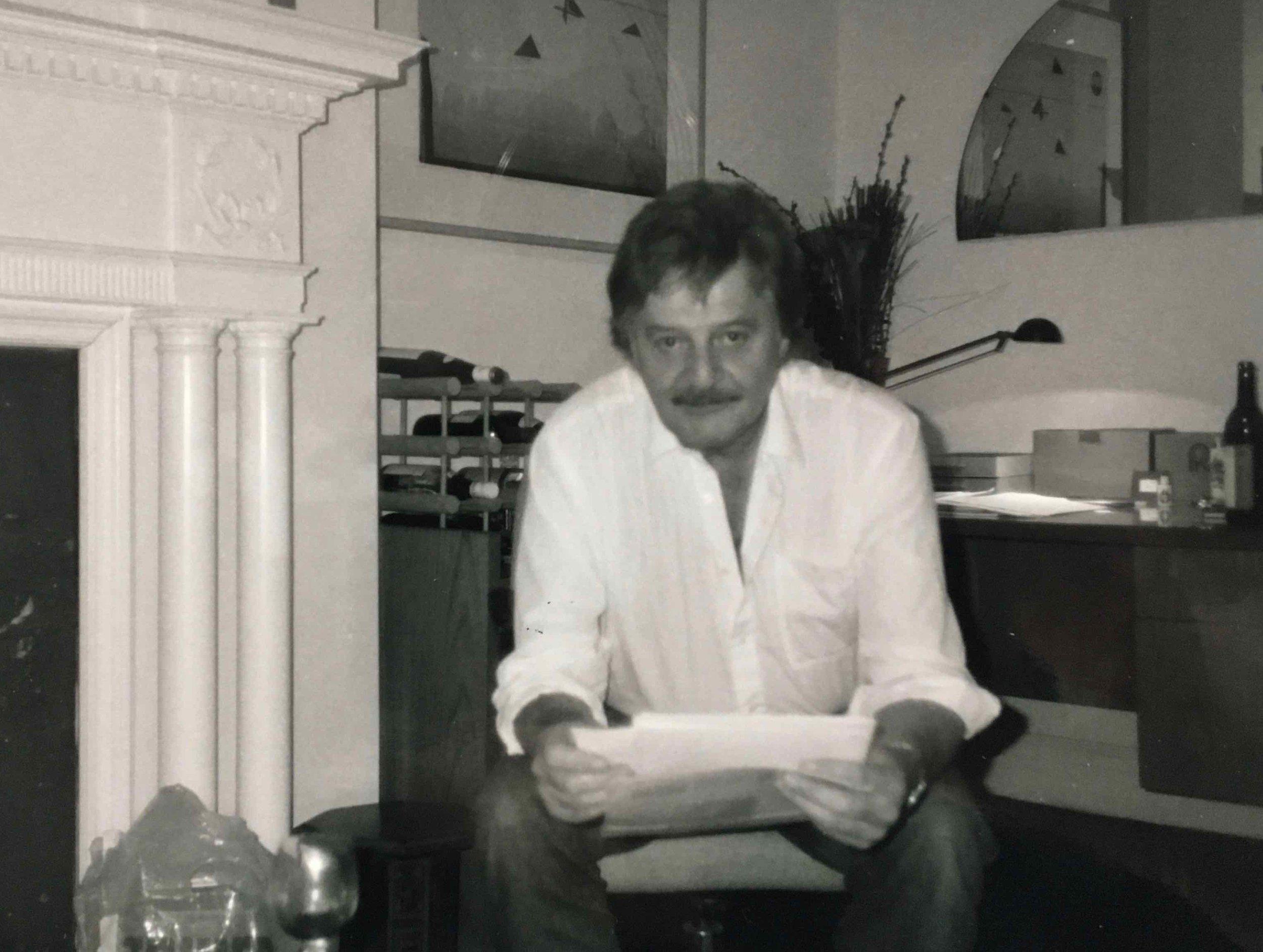 Australian composer Peter Sculthorpe, our wonderful friend