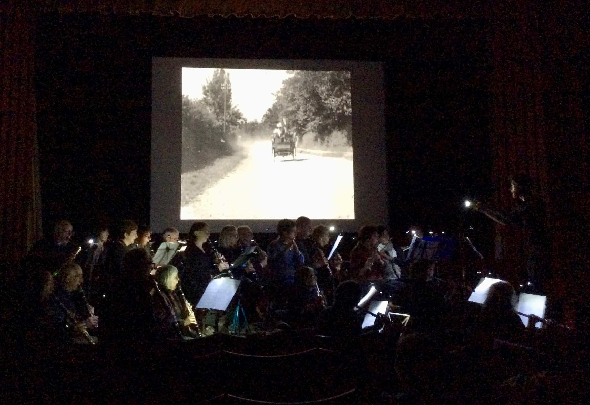 How it Feels to be Run Over , rehearsed by the Palace Band, Phoenix Cinema