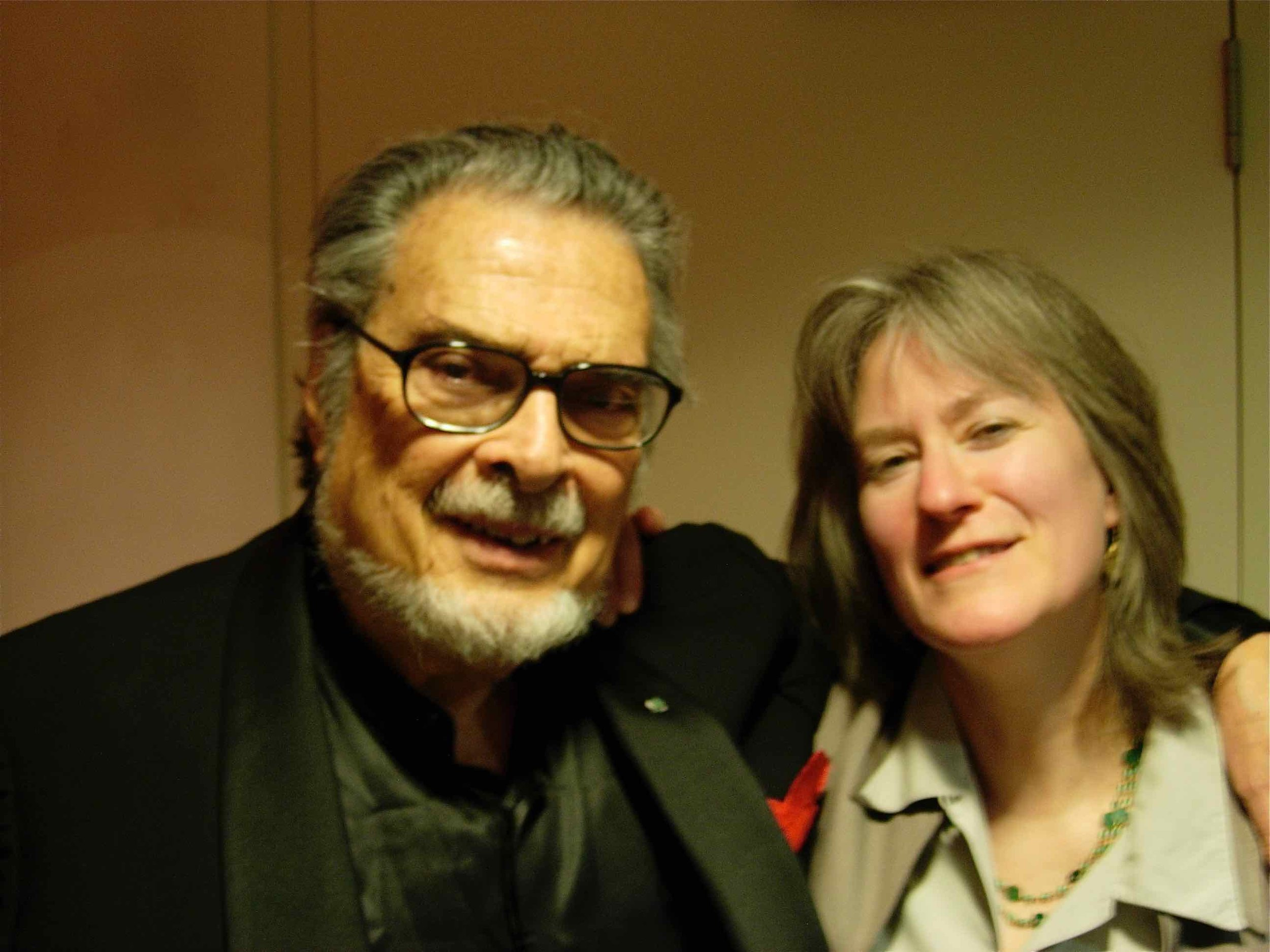 with Leon Fleisher, London