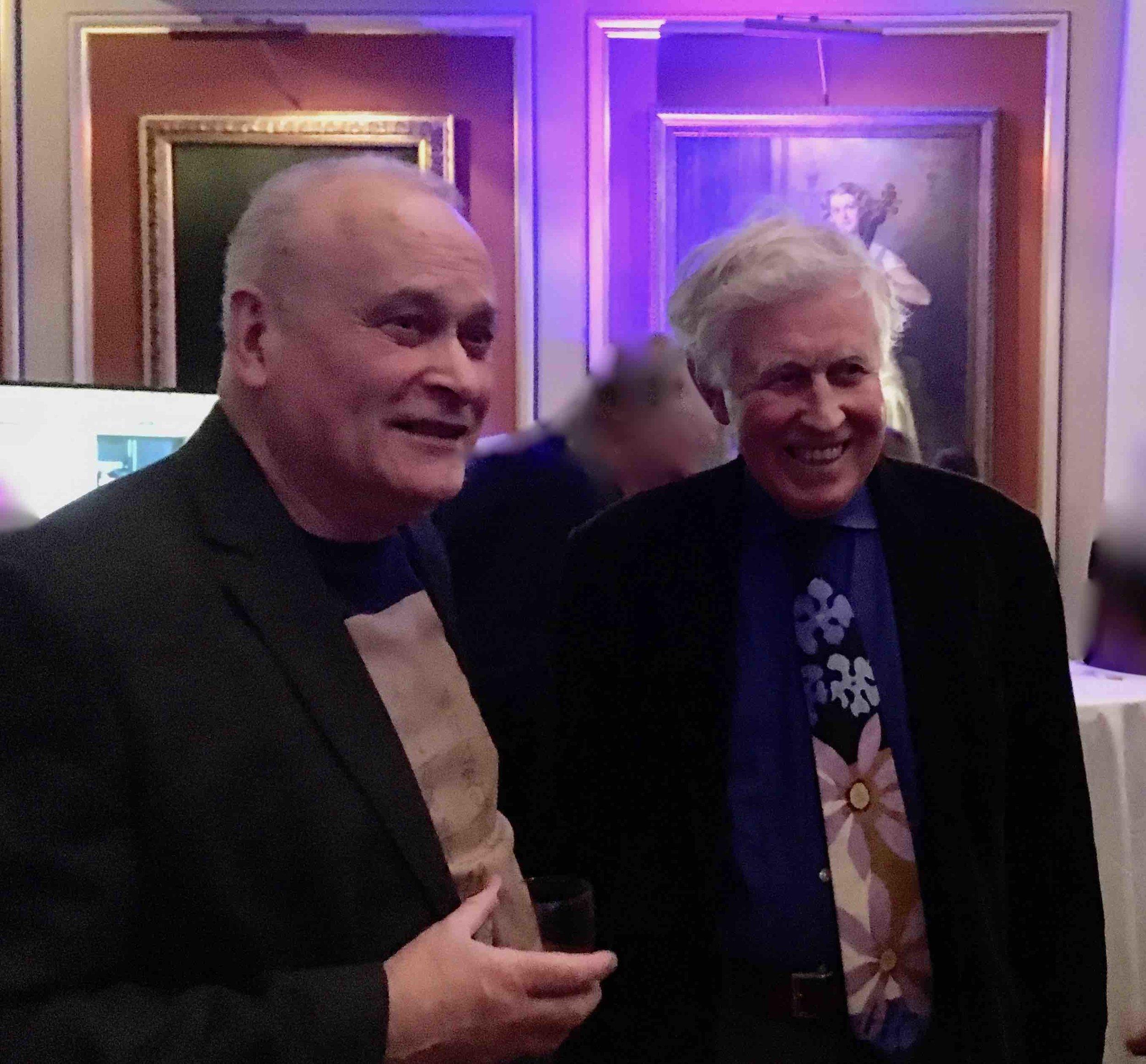 Colin Matthews and David, London, Dec 2018