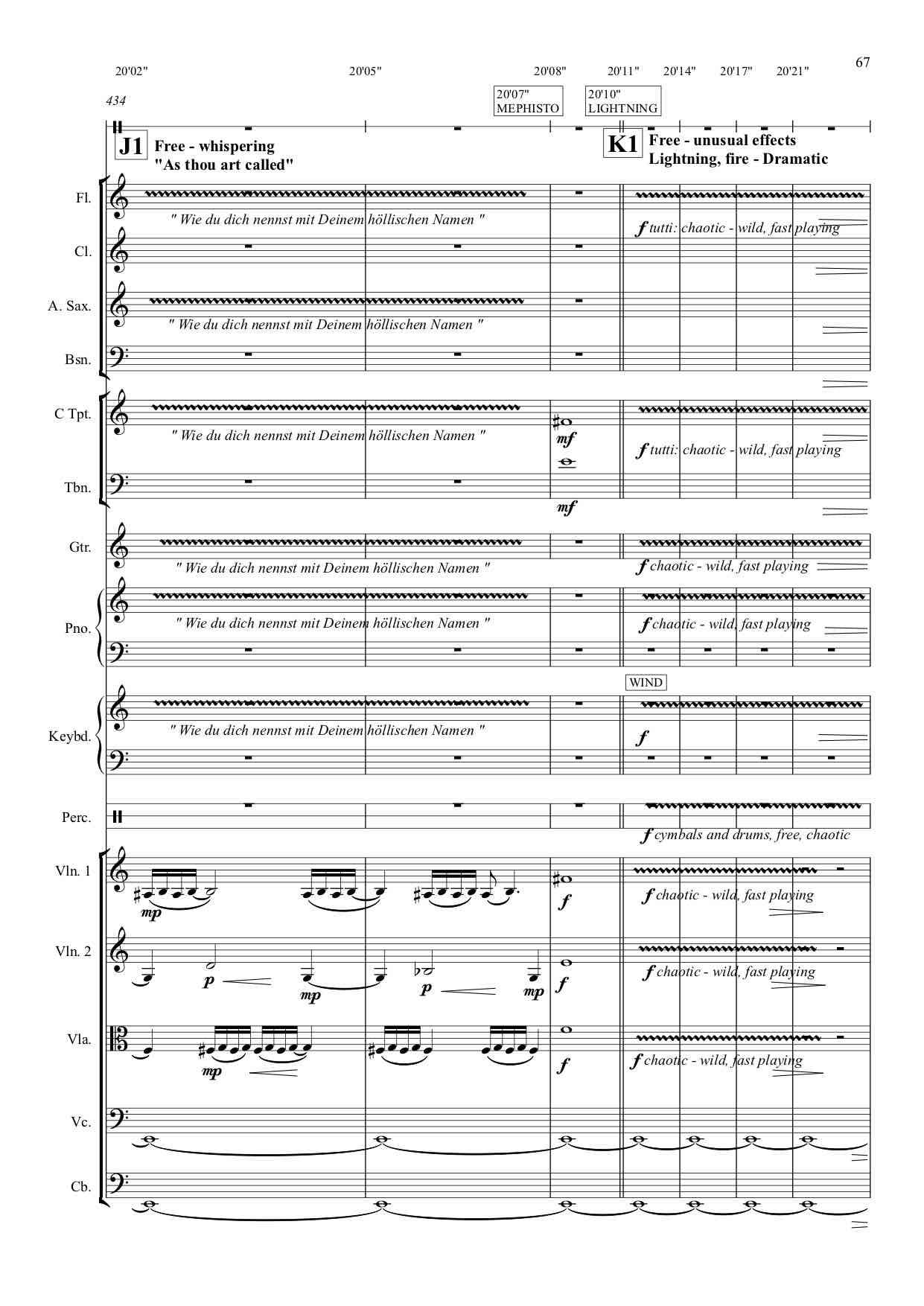 Faust : Sample page (w/free notation). Click to enlarge.
