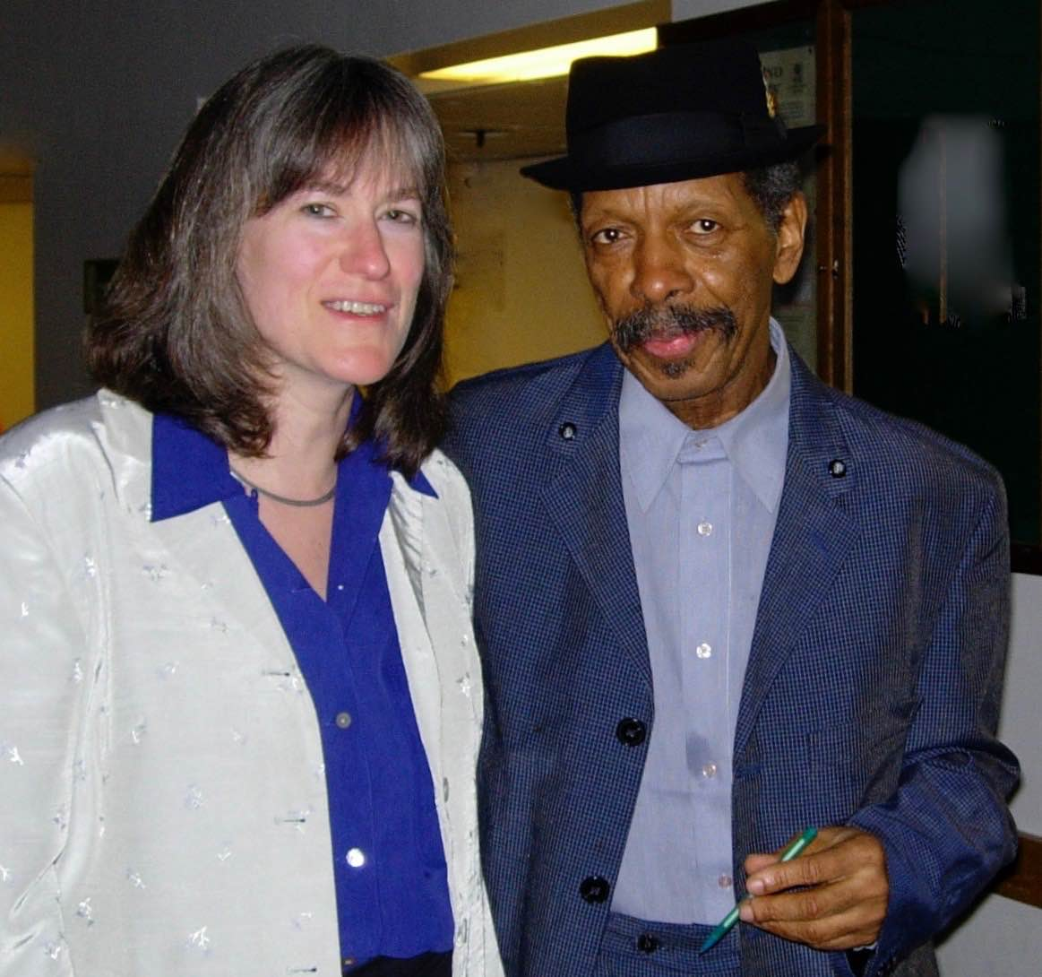 Jean with Ornette Coleman