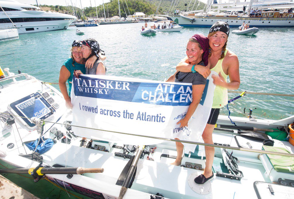 FOUR MUMS IN A BOAT - THE TALISKER WHISKEY ATLANTIC CHALLENGE - https://youtu.be/KwVrYWHjqLI