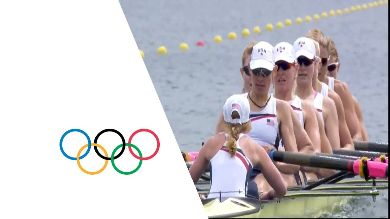 London 2012 Olympic Games RowingWomen's Eight Final Full Replay - https://www.youtube.com/watch?v=i8ewDewMXTw