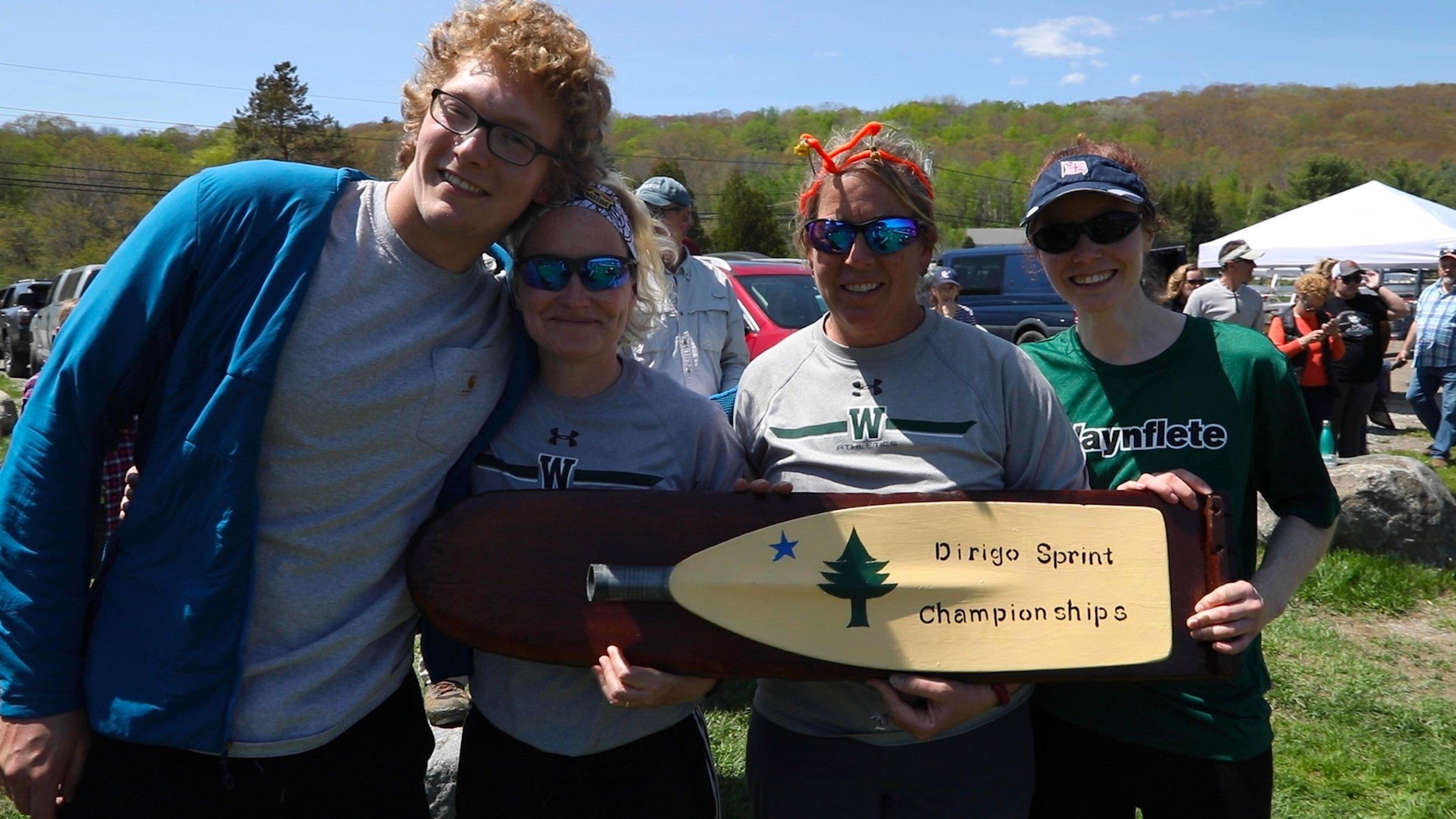 2019 Dirigo Sprint champions congratulations waynflete! -