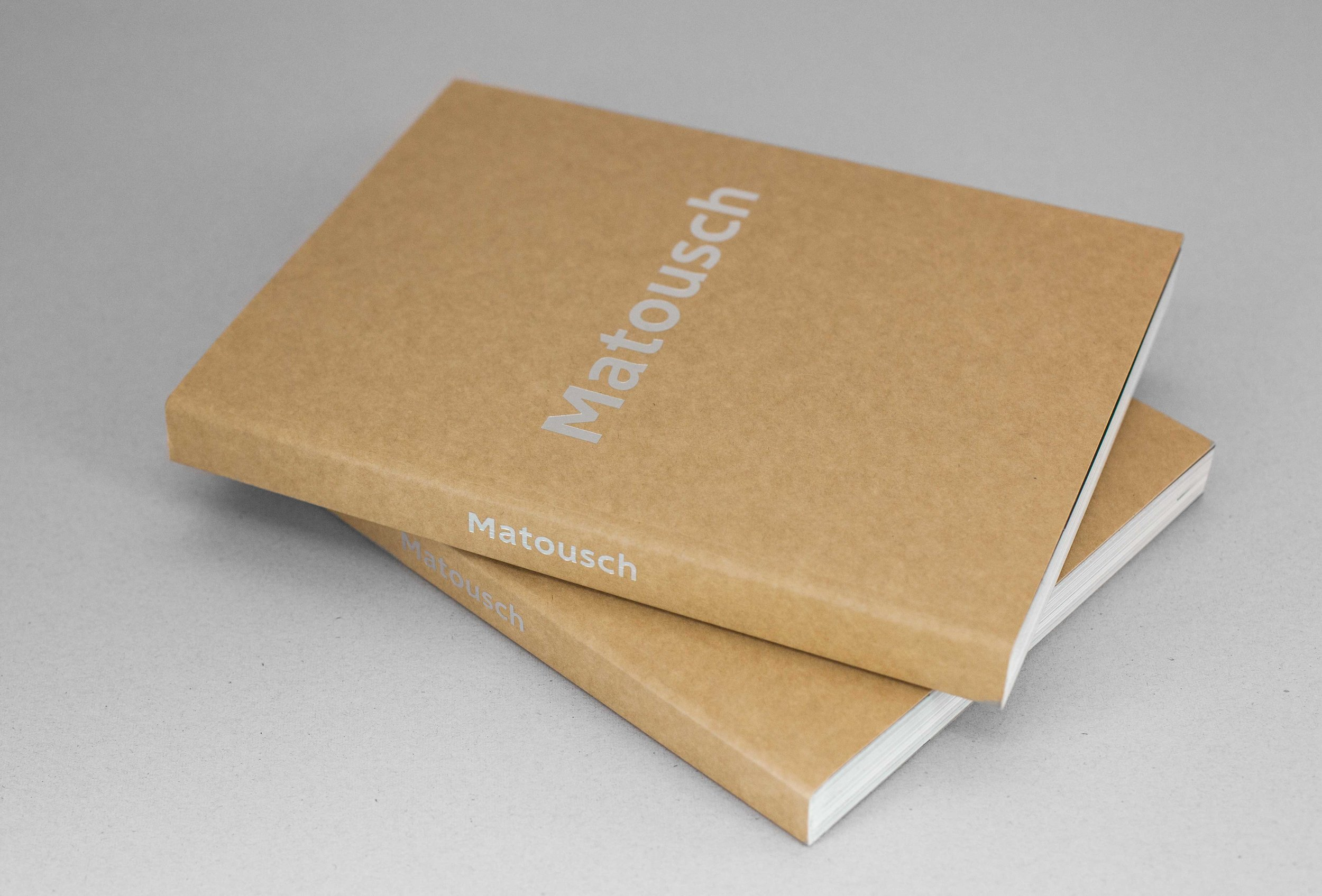 Matousch – Selected works | 2015–1999. The book contains 170 pages and a large number of pictures and is designed by  Henrik Grimner .