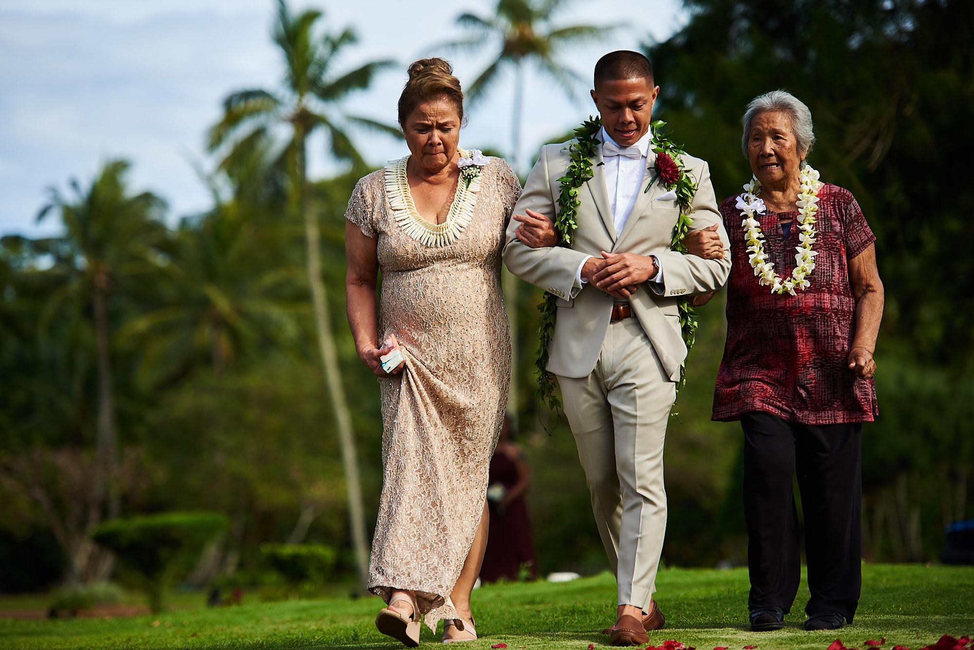 Hawaii wedding   Darnell and Ryan