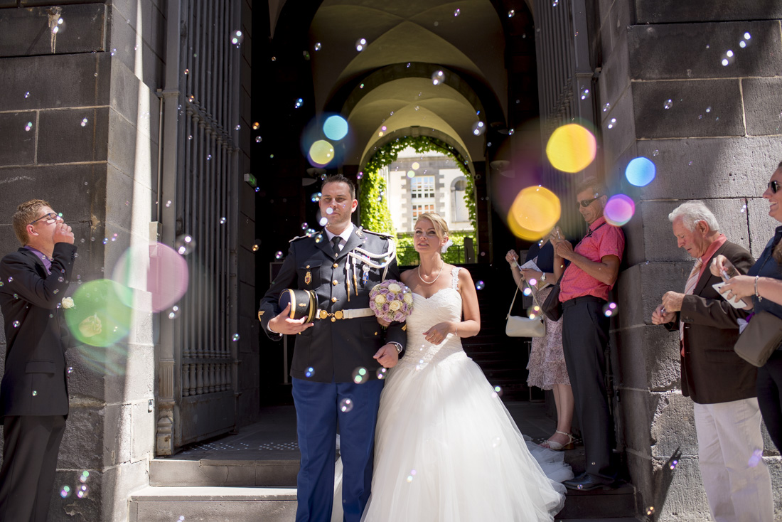 Mariage militaire au chateau de Miremont, Photographe de mariage Clermont-Ferrand