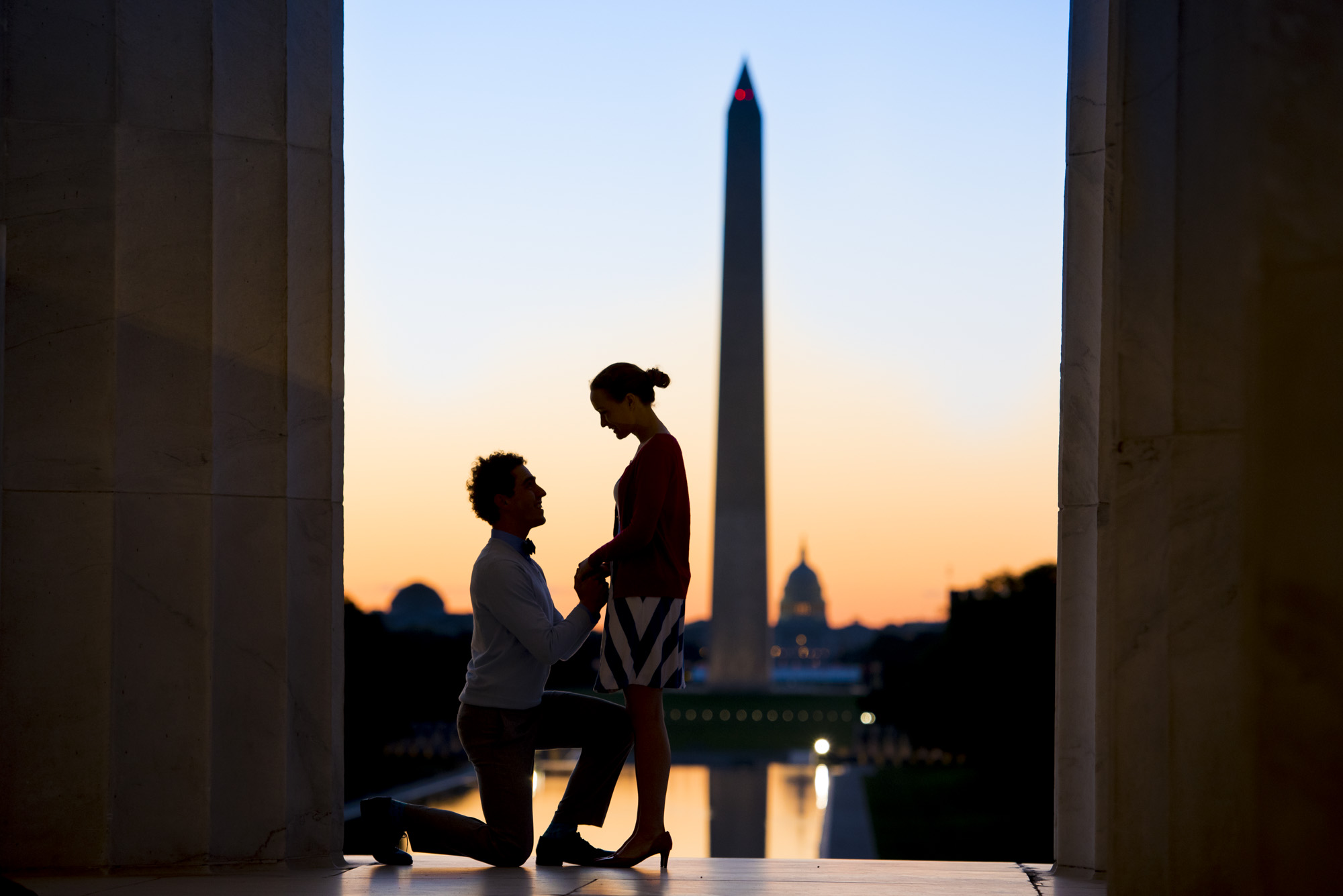 Engagement session in Washington DC | Wedding photographer from Clermont-Ferrand, FRANCE