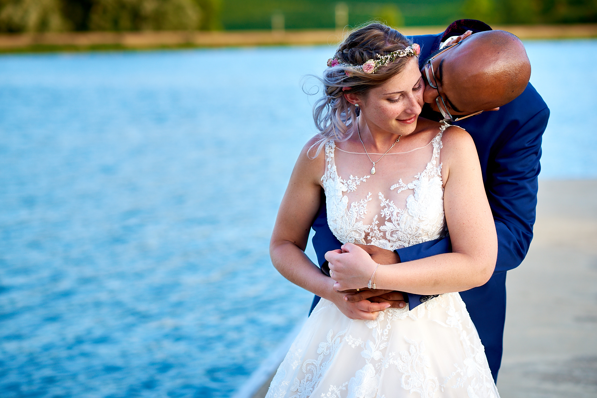 Photographe de mariage à Auxerre en Bourgogne-Franche-Comté | Séance couple des mariés