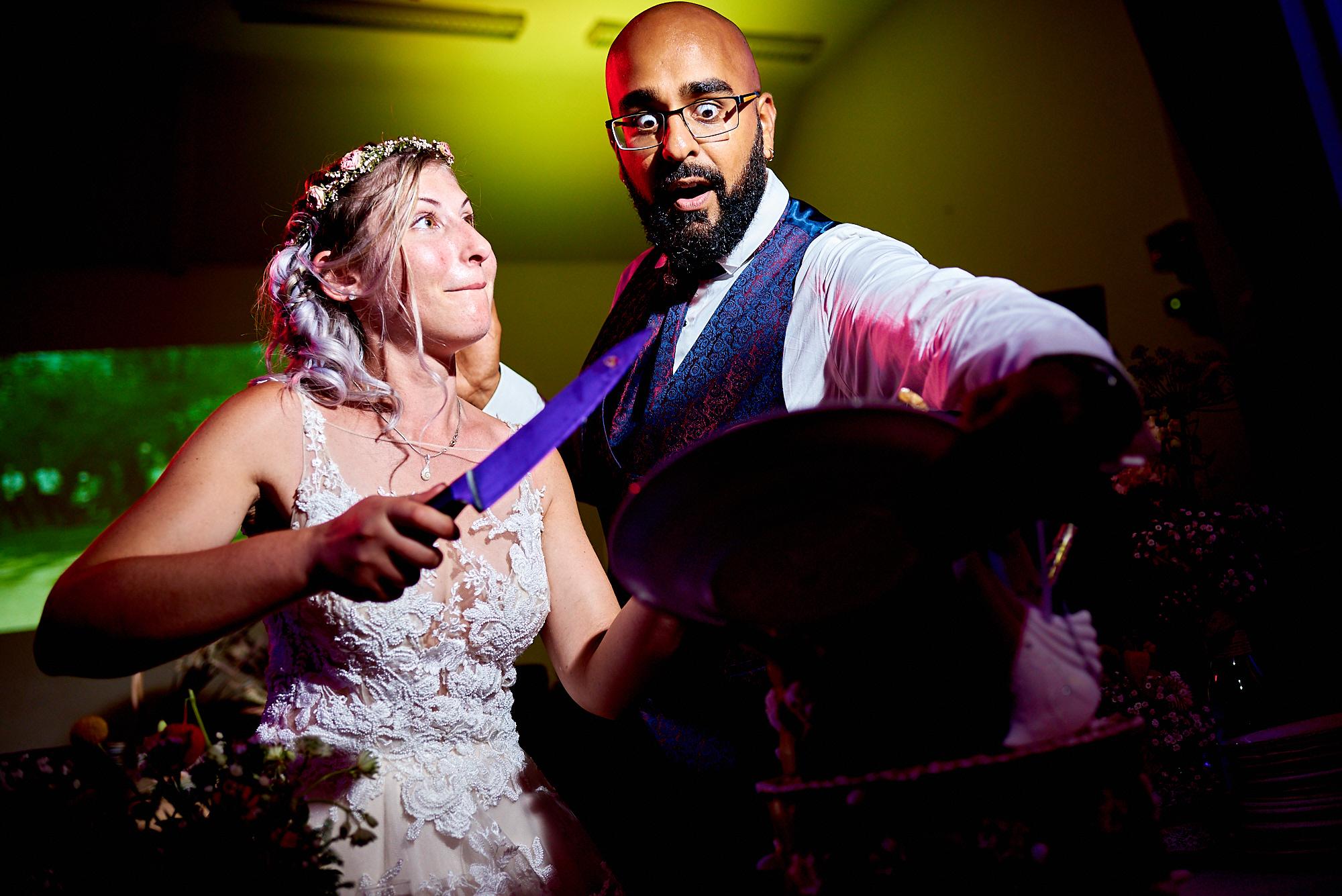 Photographe de mariage à Auxerre en Bourgogne-Franche-Comté | la pièce montée et les mariés