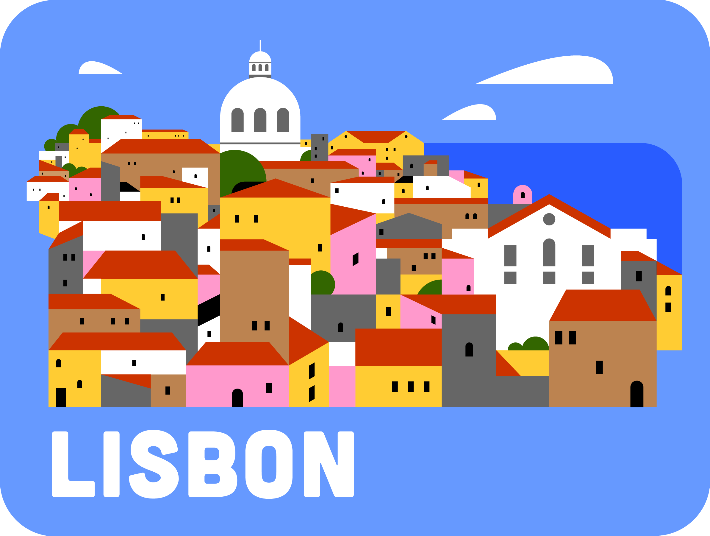 Lisbon, Portugal - A selection from my Travelogue series.