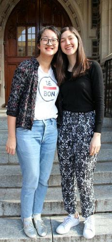 Brenda Yang & Ceren Ebrem