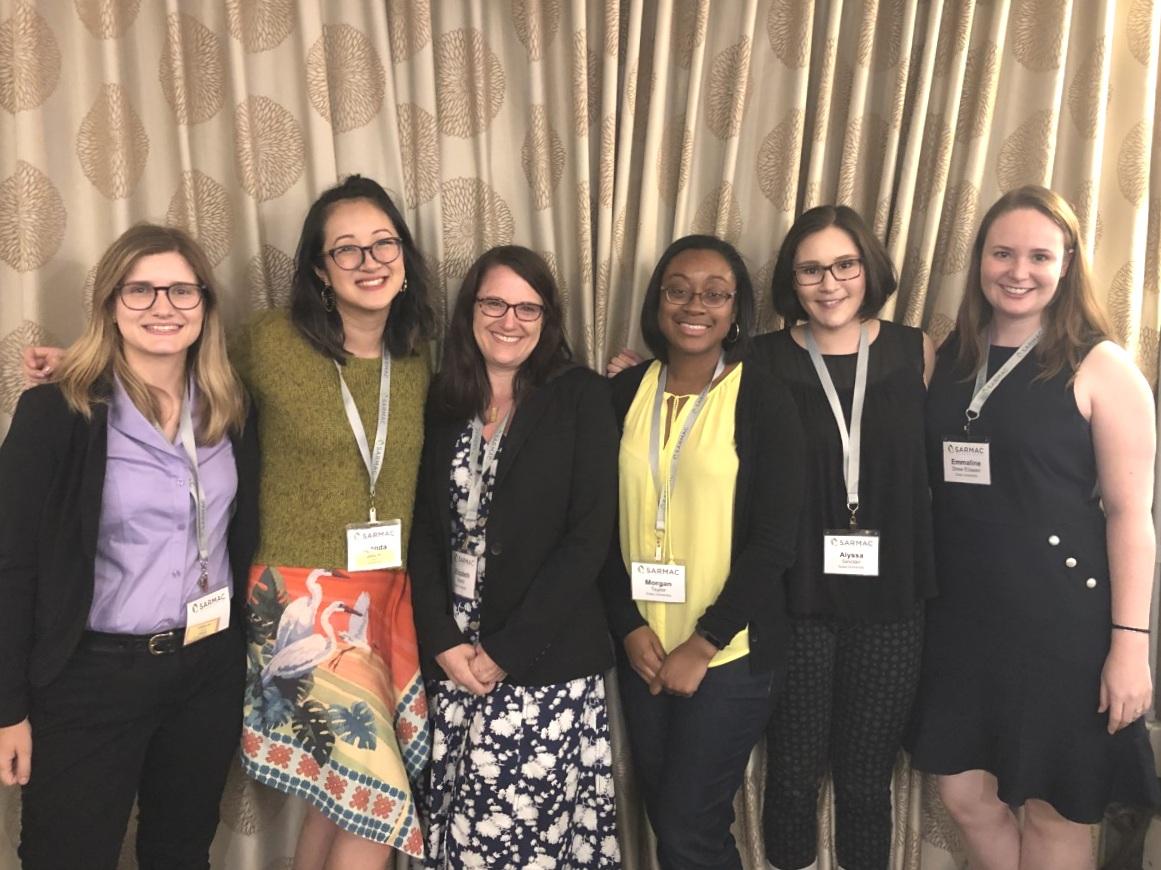 Abby Flyer, Brenda Yang, Elizabeth Marsh, Morgan Taylor, Allie Sinclair, & Emmaline Eliseev (SARMAC, Cape Cod, MA)