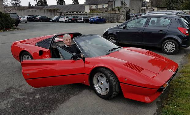 Back to the future: Classic 1980s Ferrari sports car goes electric    - www.independent.ie