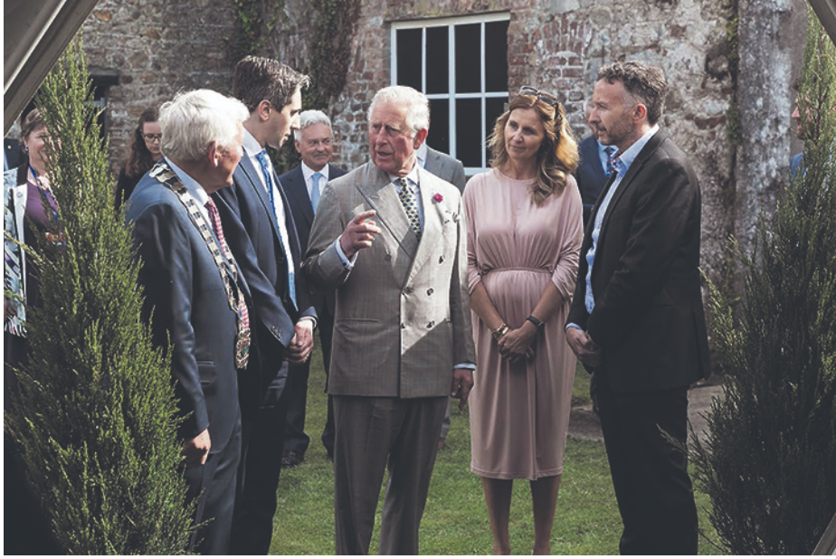Prince of Wales enjoys a cool experience thanks to Norman  - www.southerstar.ie
