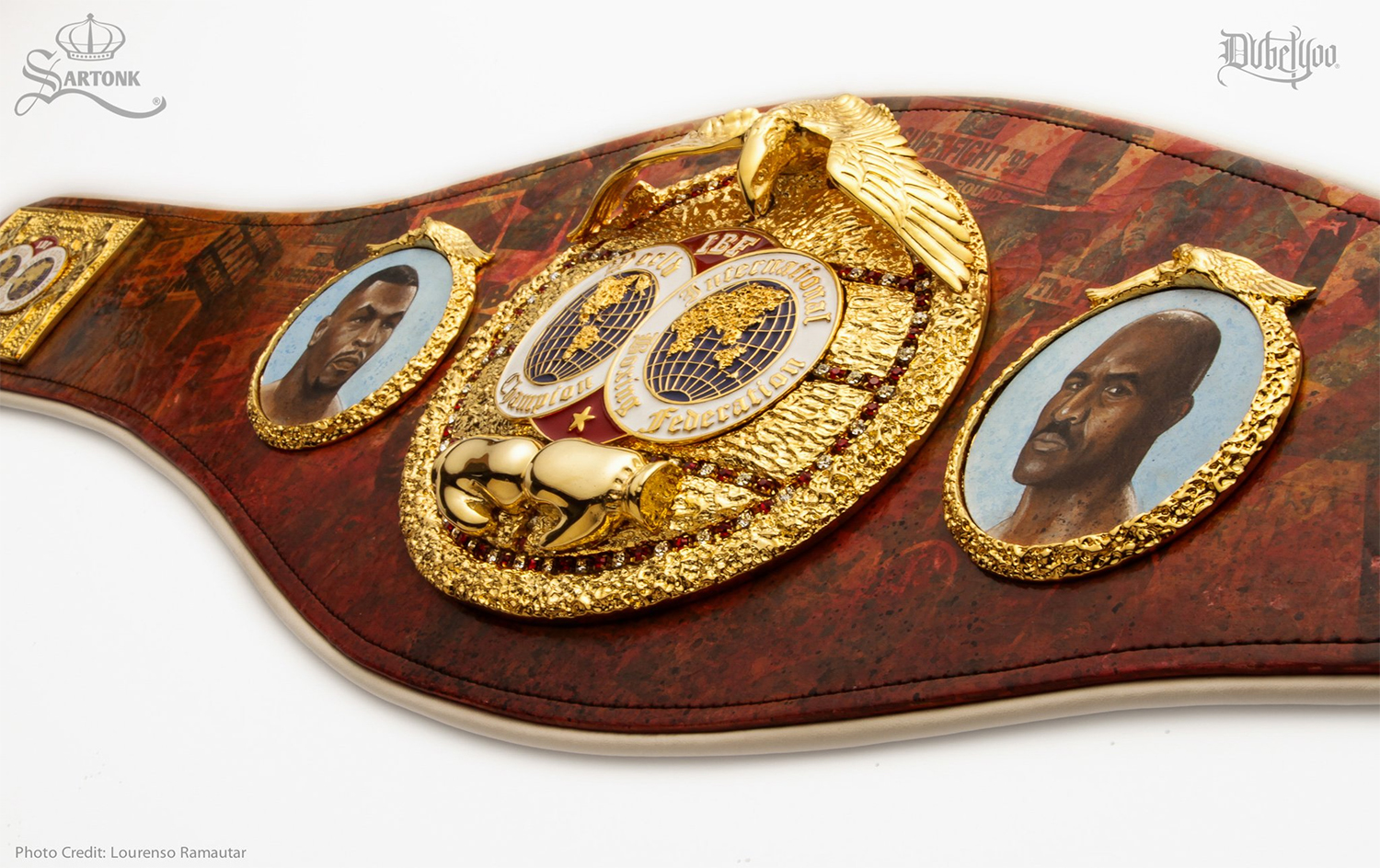 Official IBF Championship Belt Collaboration with Sartonk and Dubelyoo