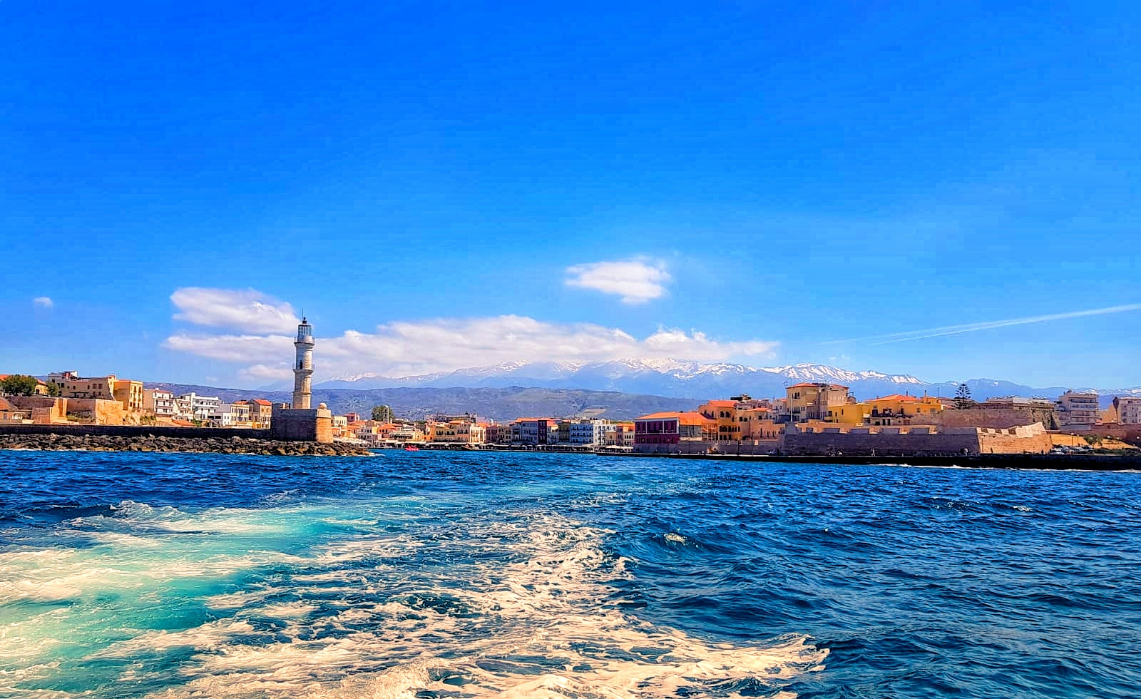 Entrance to Chania - The Venetian Harbour