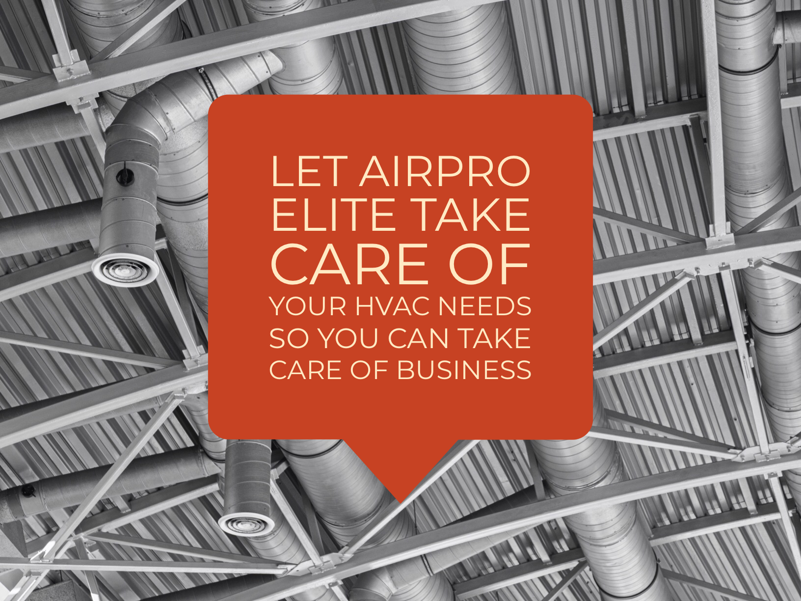 Let AIRPRO Elite Take Care Of You So You Can Take Care Of Business