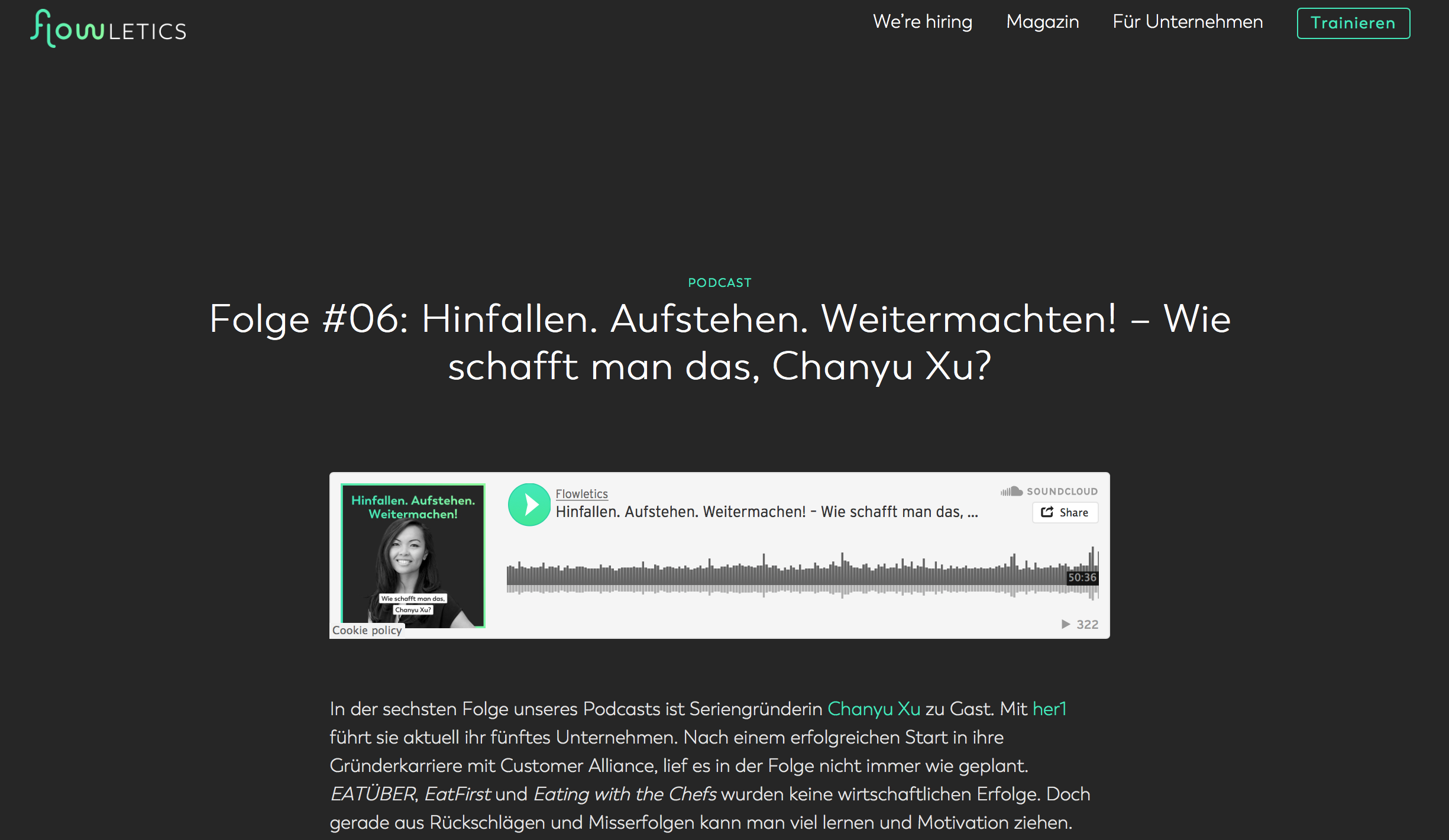 Flowletics Podcast (German) -
