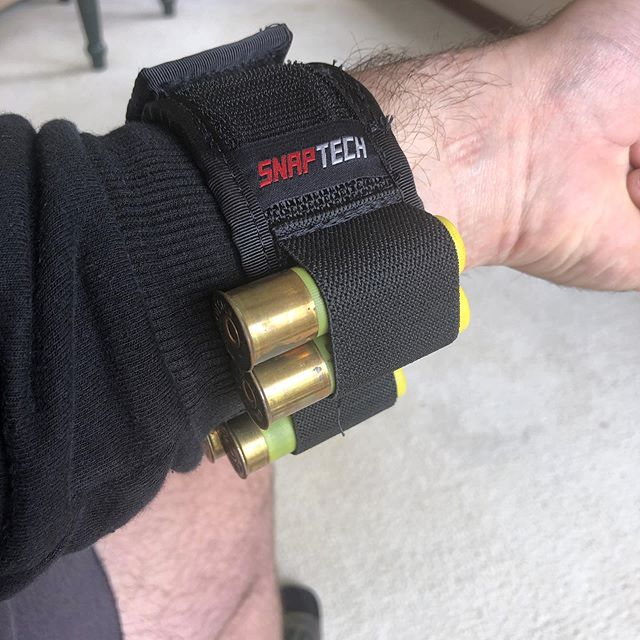 Working on a shotgun shell Wristmag for you all as we speak. Will 8 shells be to litte or too many? - #wristmag #homedefense - #guns #gun #shotgun #shotguns #tacticalgear