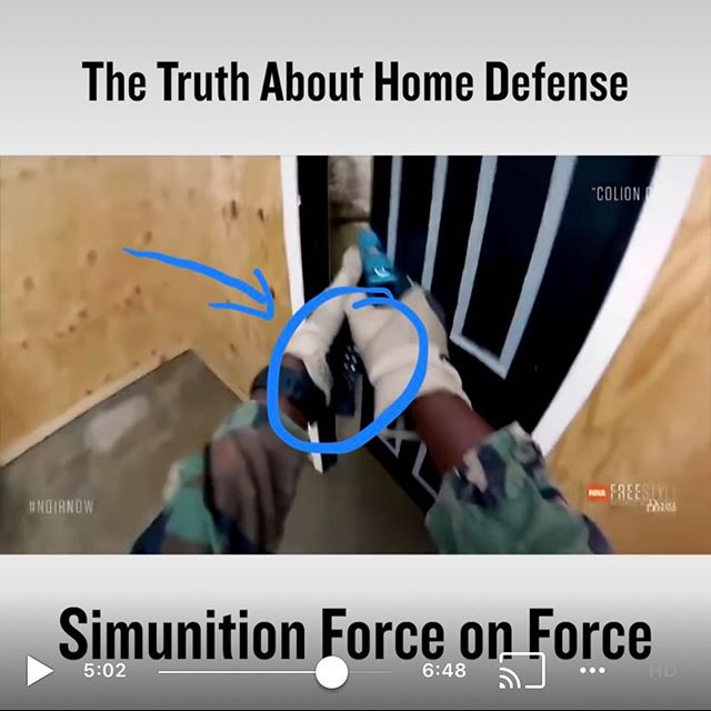 👀Hey @colionnoir we just watched your home defense simulation video and noticed you're still holding your spare magazine in your hand and carrying it around with you. 😕 You dont have to do that anymore dude, you should try out the Wristmag. #noirnow - #wristmag #homedefense - #guns #gun #pistols #pistol #handguns #handgun #tacticalgear