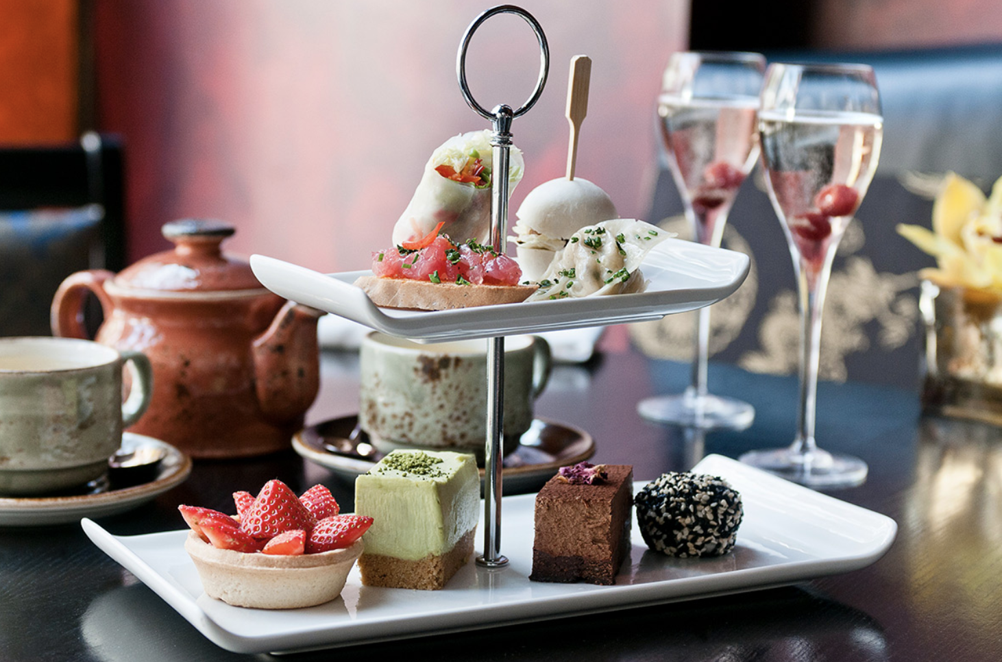 Afternoon Tea Week! Get ready to indulge in cakes, scones, chocolate and tea!