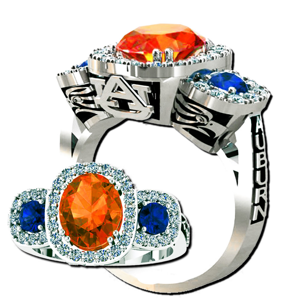 """The """"Spirit of the Eagle"""" ring comes in three different sizes! We can customize your ring to your taste today!"""