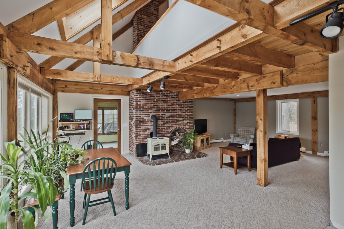 ENERGY EFFICIENT TIMBERFRAME RENOVATION | MOTTRAM ARCHITECTURE