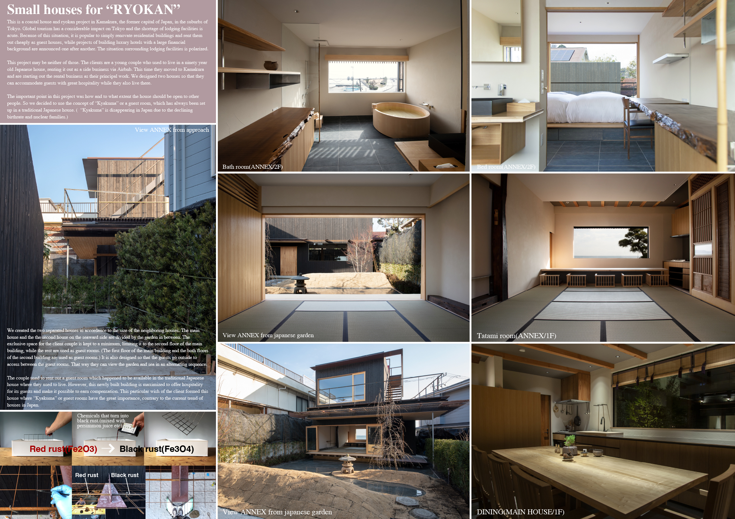 "Project Name: small houses for ""RYOKAN"" - Design by: G ARCHITECTS STUDIOArchitecture Division: Hotel & ResortWebsite: http://g-archi.info"