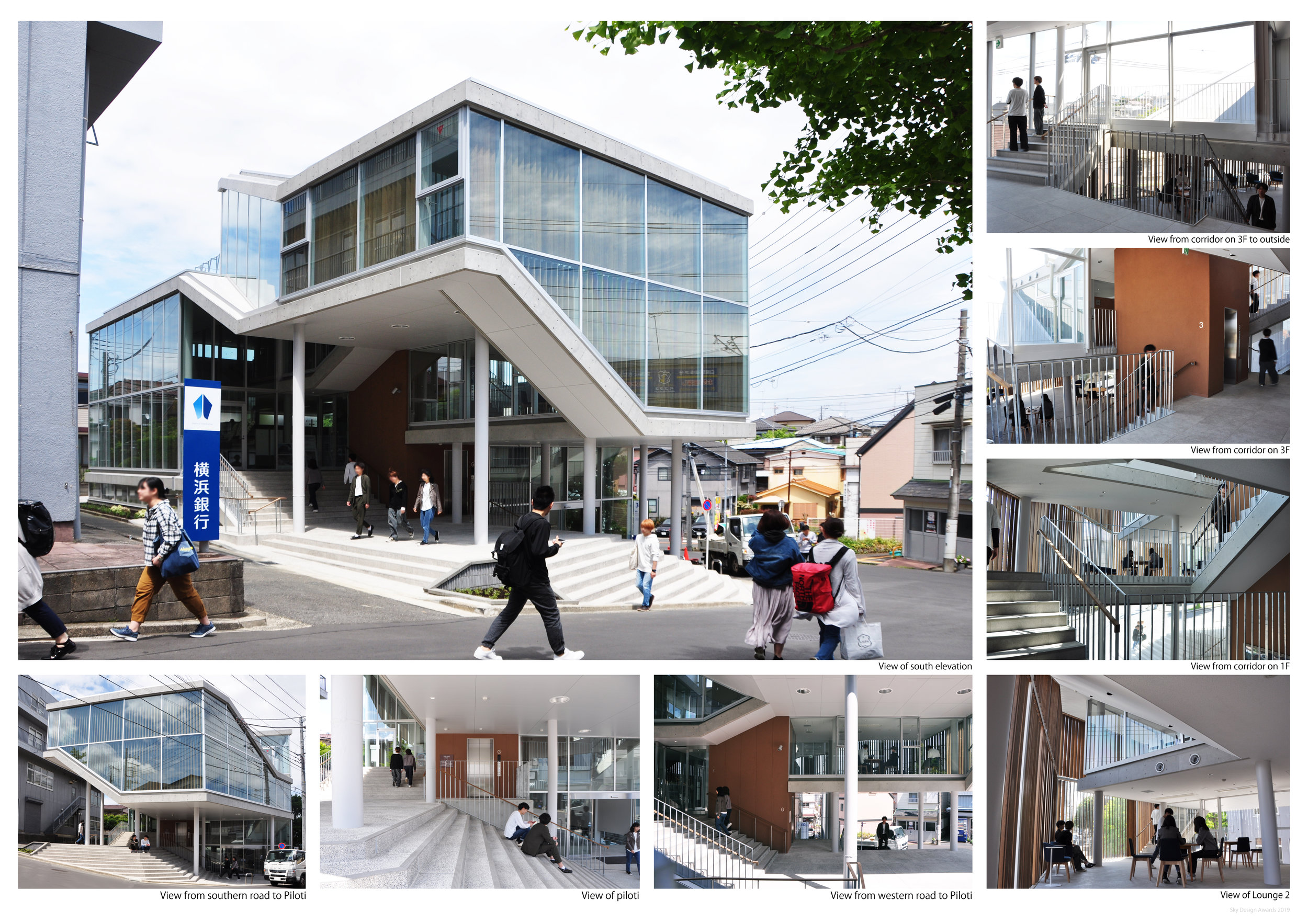 Project Name: Building No.30 in Yokohama campus of Kanagawa University - Design by: Mitari ArchitectsArchitecture Division: Institution & EducationalWebsite: http://www.mitari-ar.com