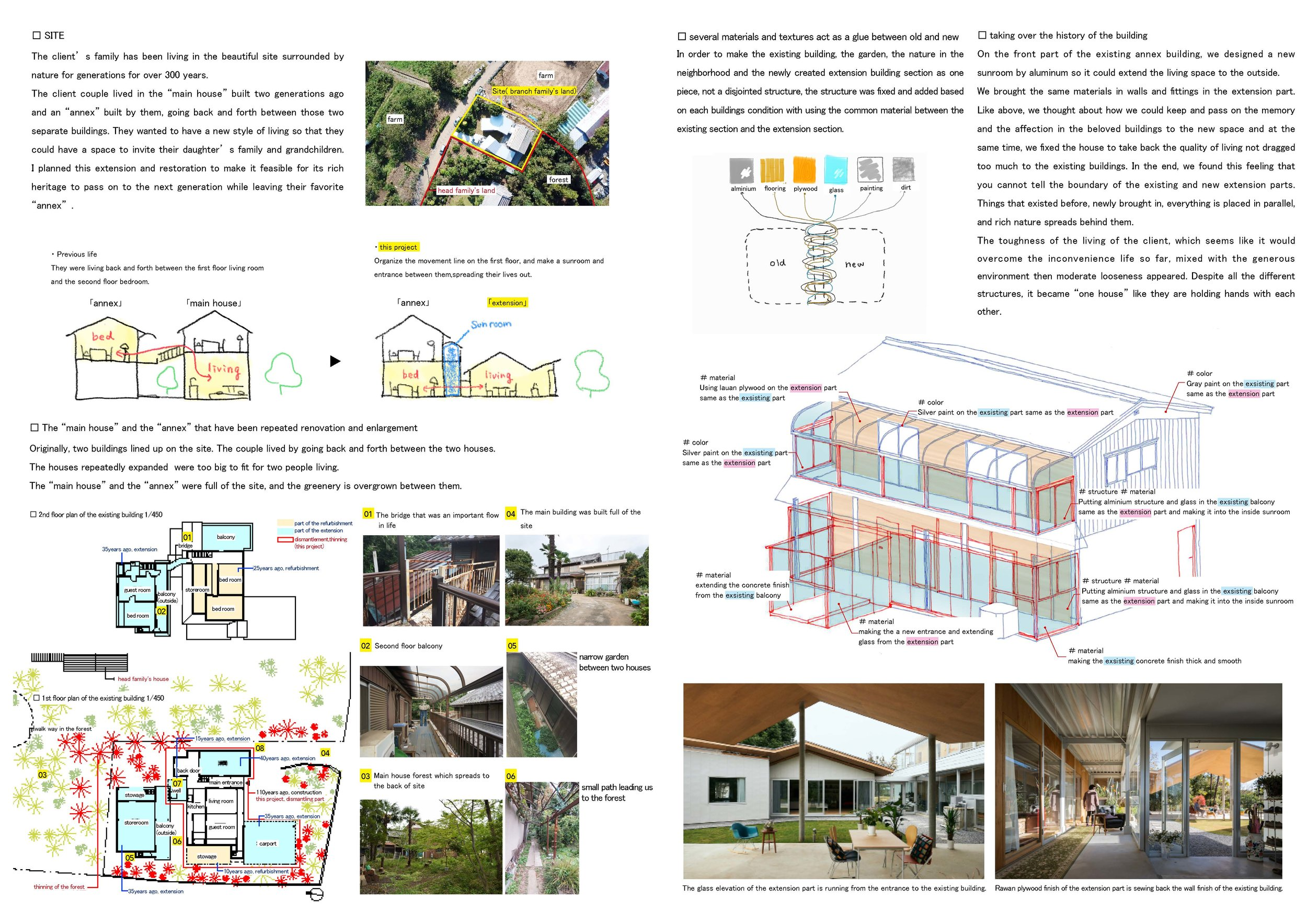 Project Name: Higashimatsuya-ma House - Design by: Kohei Kudo & AssociatesArchitecture Division: ResidentialWebsite: http://koheykudo.com/