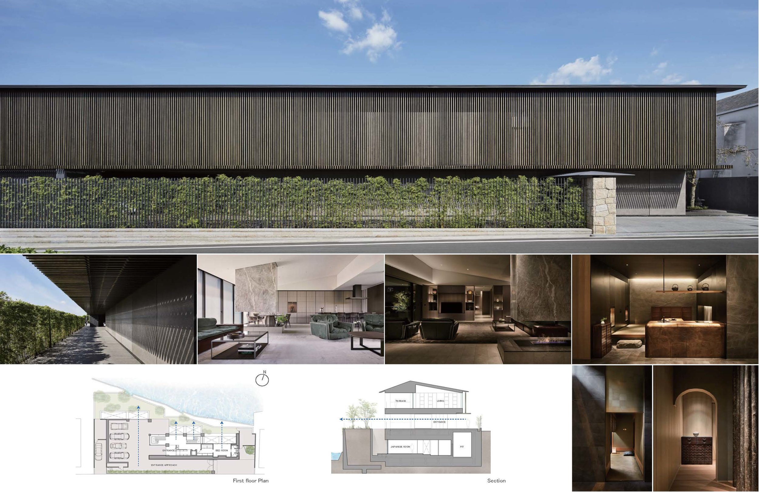 Project Name: Y Residence - Design by: A.N.DArchitecture Division: ResidentialWebsite: https://www.and-design.jp/