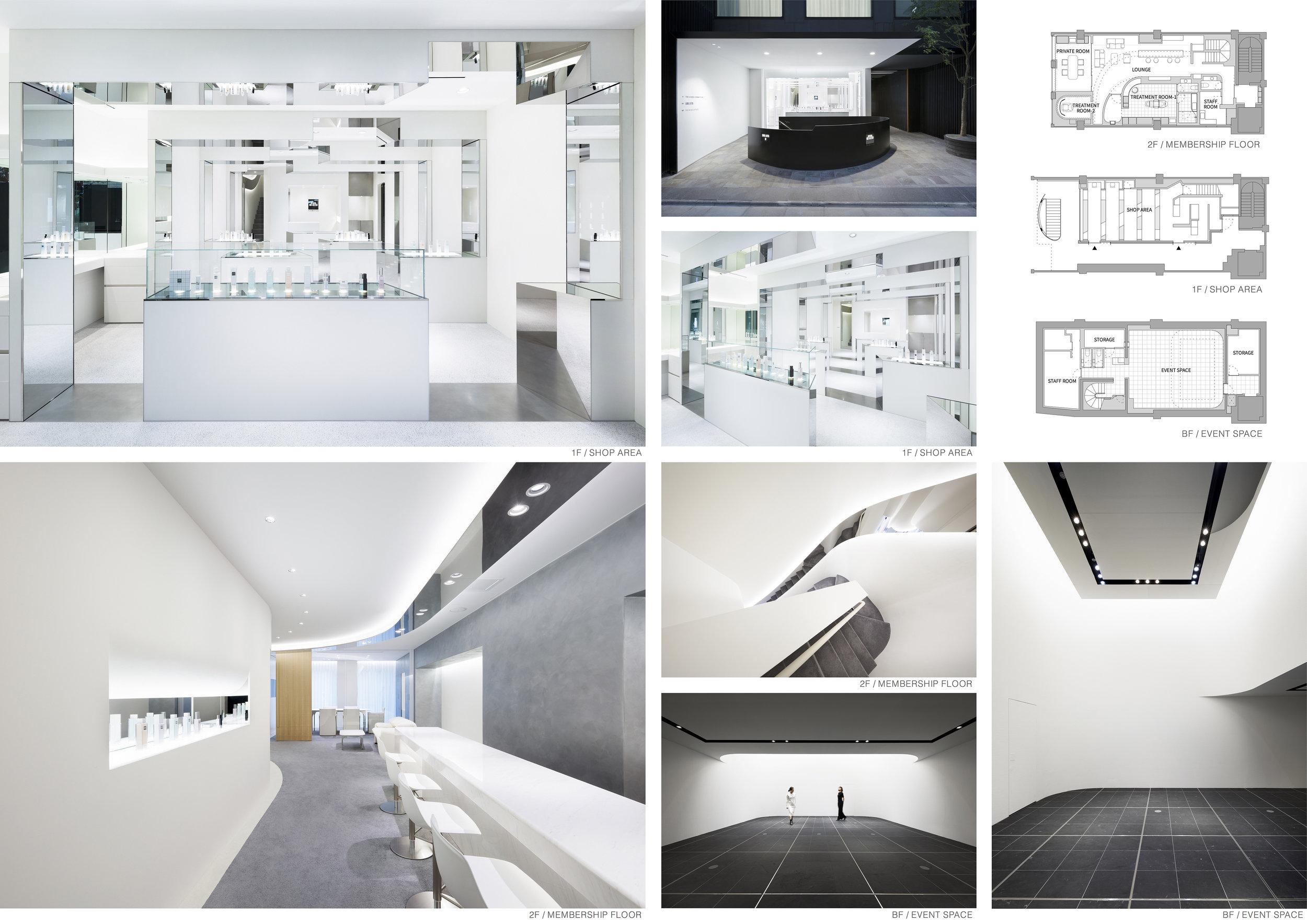 The Ginza Cosmetics - Design by: ODS/ Oniki Design StudioInterior Division: Retail DesignWebsite: http://oniki-design-studio.com/