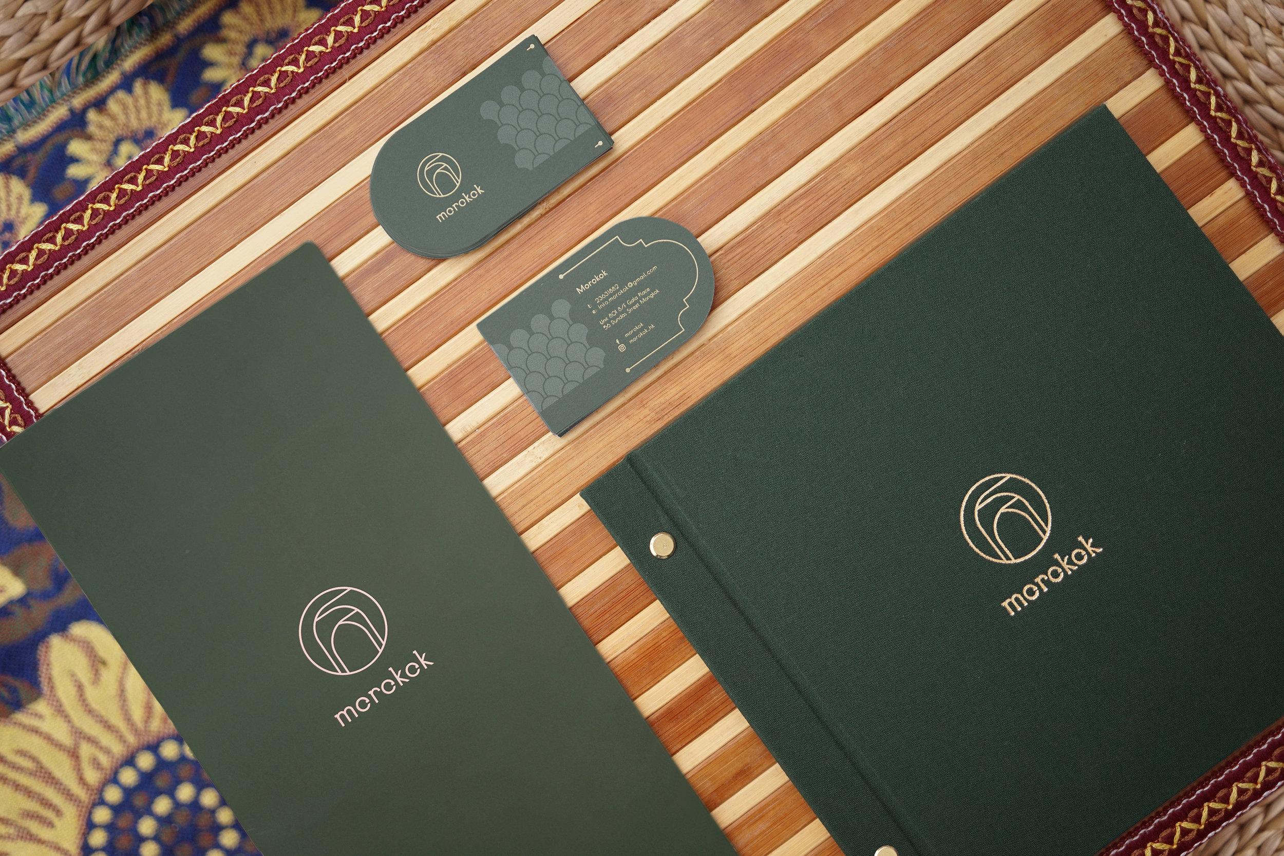 Morokok - Design by: Studio RYTEVisual Division: Corporate Identity DesignWebsite: http://www.studio-ryte.com/projects/morokok