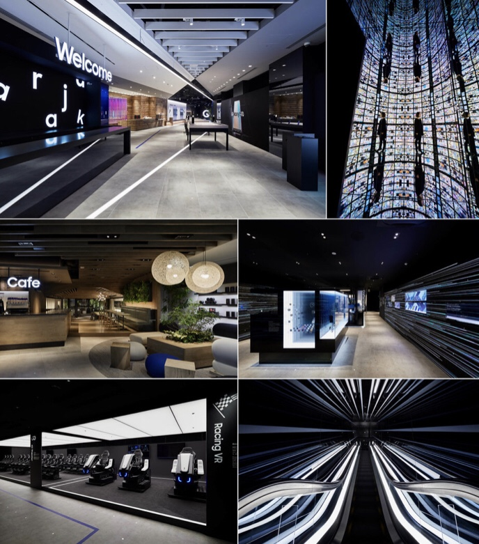Galaxy Harajuku - Design by: Kubota Architects & Associates Inc.Interior Division: CommercialWebsite: https://www.ka-a.co.jp/