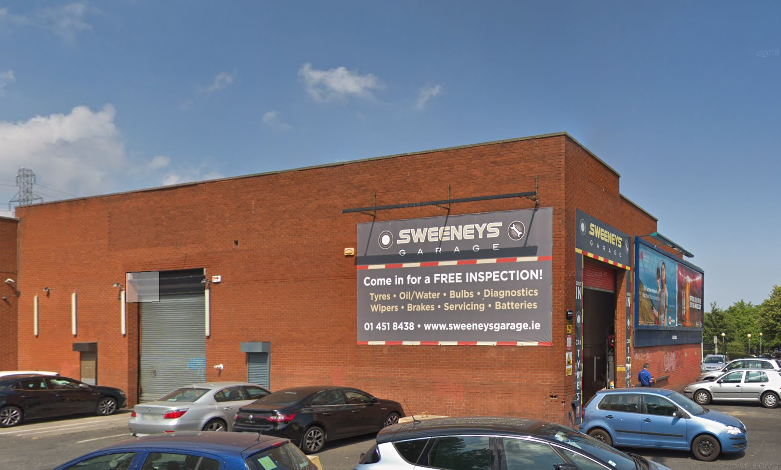 sweeney garage tallaght.PNG