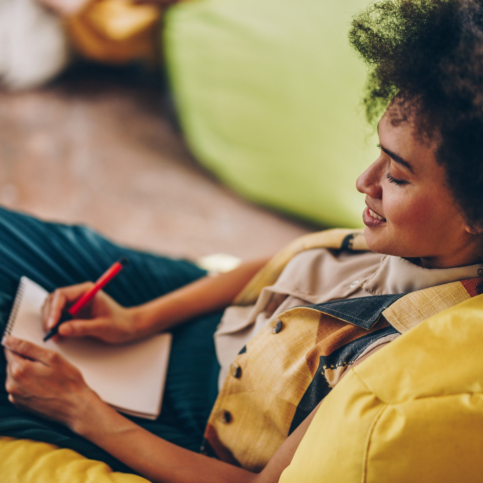 The benefits of having a grown-up diary -