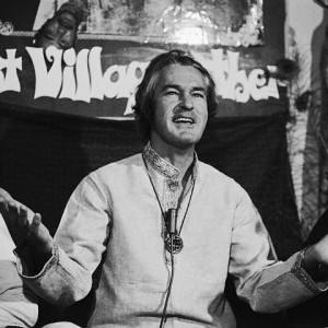 Timothy Leary at Press Conference