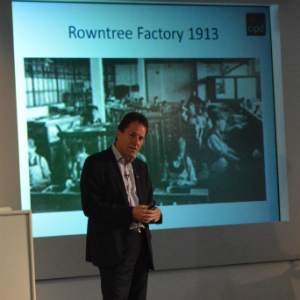 Peter Cheese of the CIPD talking about Rowntree's