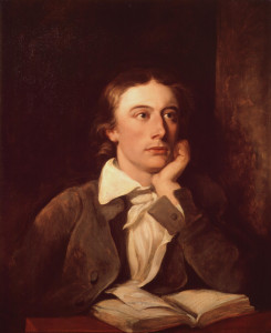 Keats suggested the poet needs a negative capability in which they can experience the Sublime without 'an irritable reaching after fact and reason'