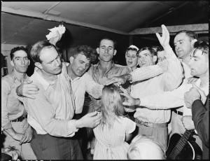 A Pentecostal service in Kentucky, 1946