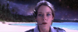 Jodi Foster exploring the Multiverse in Contact