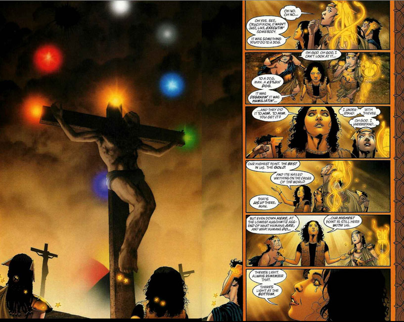 Comic book culture, like Allan Moore's Promethea, still marries words and images, and still has an idea of the magical power of the imagination
