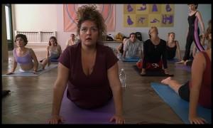 Janice Soprano seeking escape through yoga