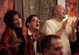 Paul seeks escape through the Hari Krishnas