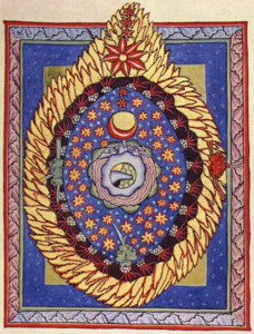 One of Hildegard of Bingen's illuminations