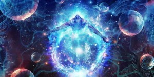 Connecting to God / Cosmos / energy / Logos / higher consciousness...er....what was the question again? Did I already say that? Hello? Echo!