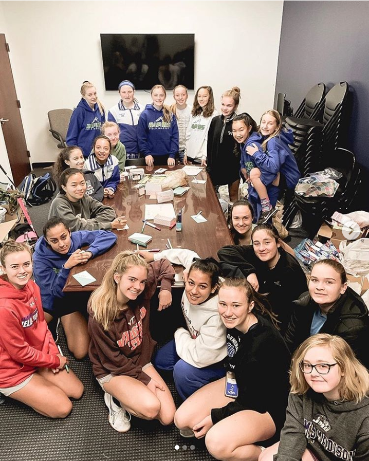 "Screenshot_2019-06-02 Rapids Field Hockey on Instagram ""Rapids service project-the girls made cards and packed donations in[...].png"